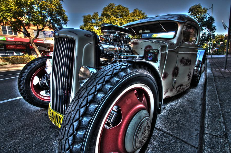 Camden Photograph - Koolsville Rat Rod. by Ian  Ramsay