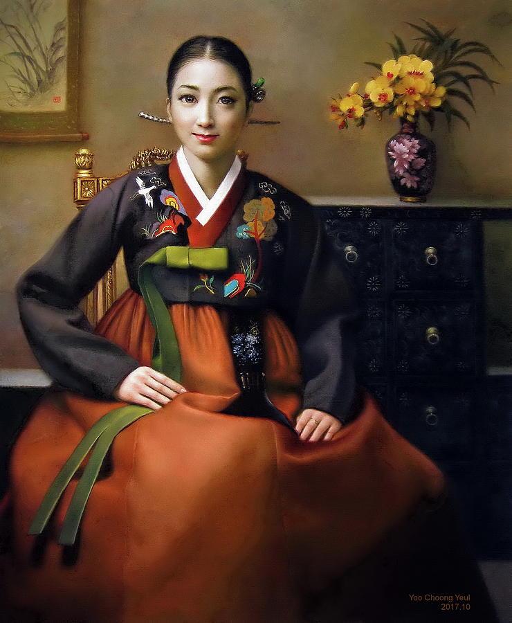 Korea belle 7 by Yoo Choong Yeul