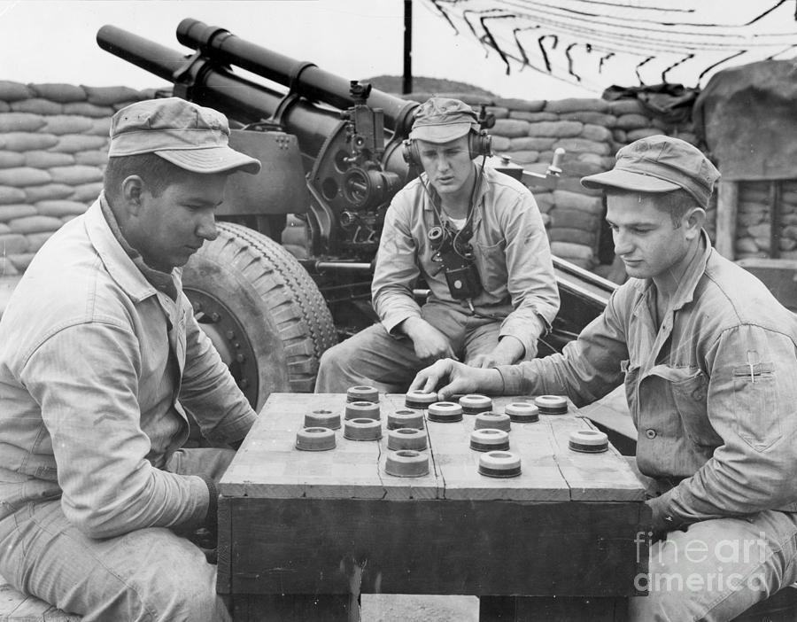 1952 Photograph - Korean War (1950-1953) by Granger