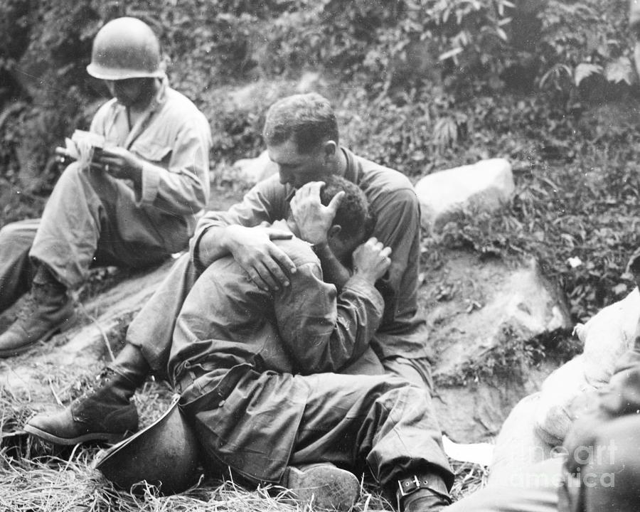 1950 Photograph - Korean War, 1950 by Granger