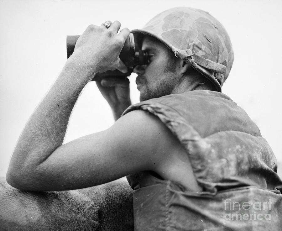 1952 Photograph - Korean War: Bunker Hill by Granger