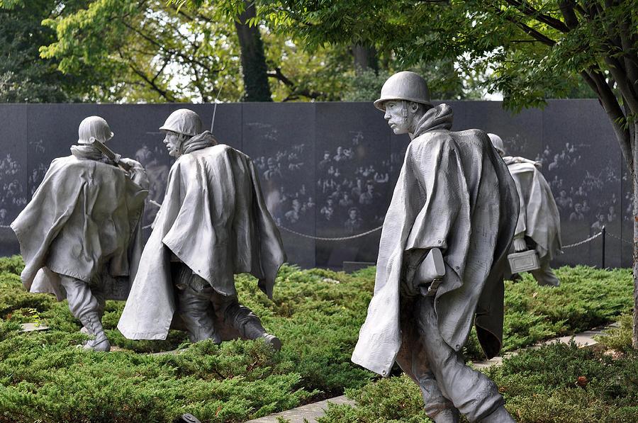 Blanton Photograph - Korean War Memorial 3 by Teresa Blanton