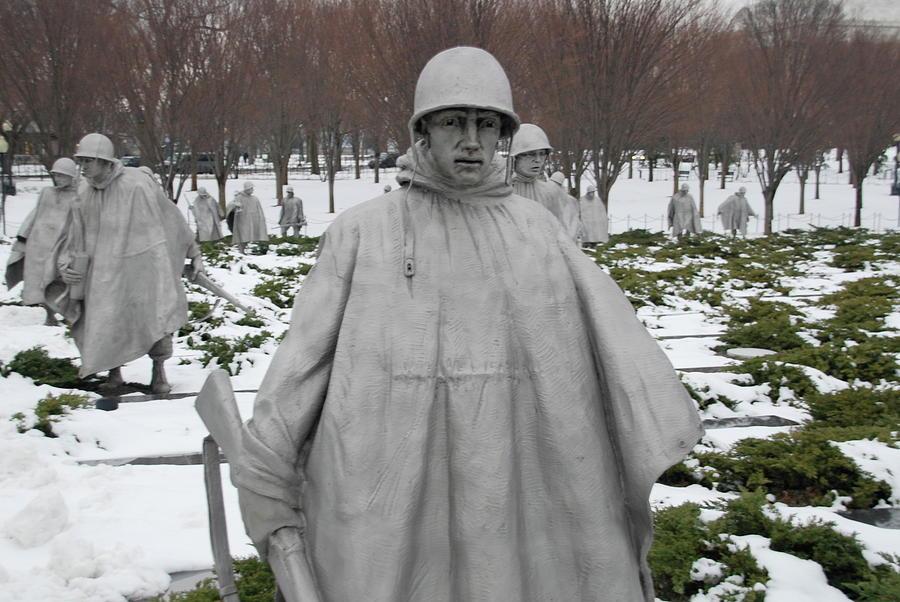Korean War Memorial by Francis Chester