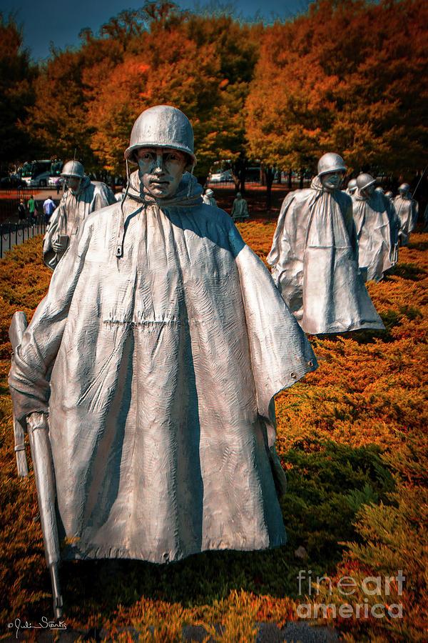 Korean War Veterans Memorial #5 by Julian Starks