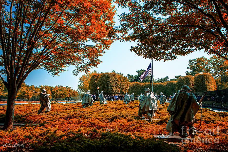 Korean War Veterans Memorial #6 by Julian Starks