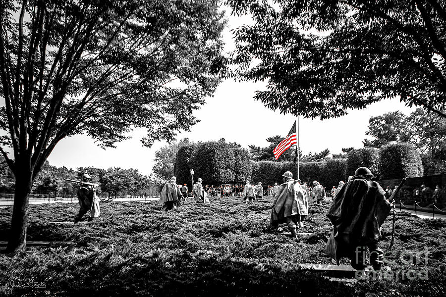 Korean War Veterans Memorial #7 by Julian Starks
