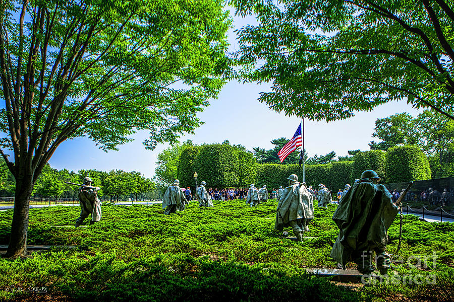 Korean War Veterans Memorial #8 by Julian Starks