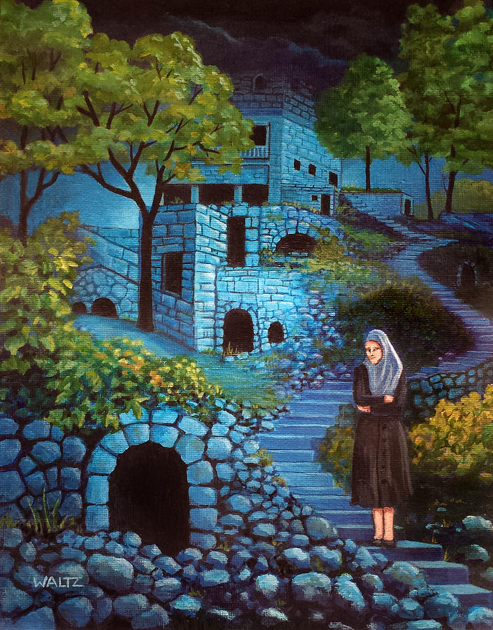 The Kotz of a Yod Painting by Beth Waltz