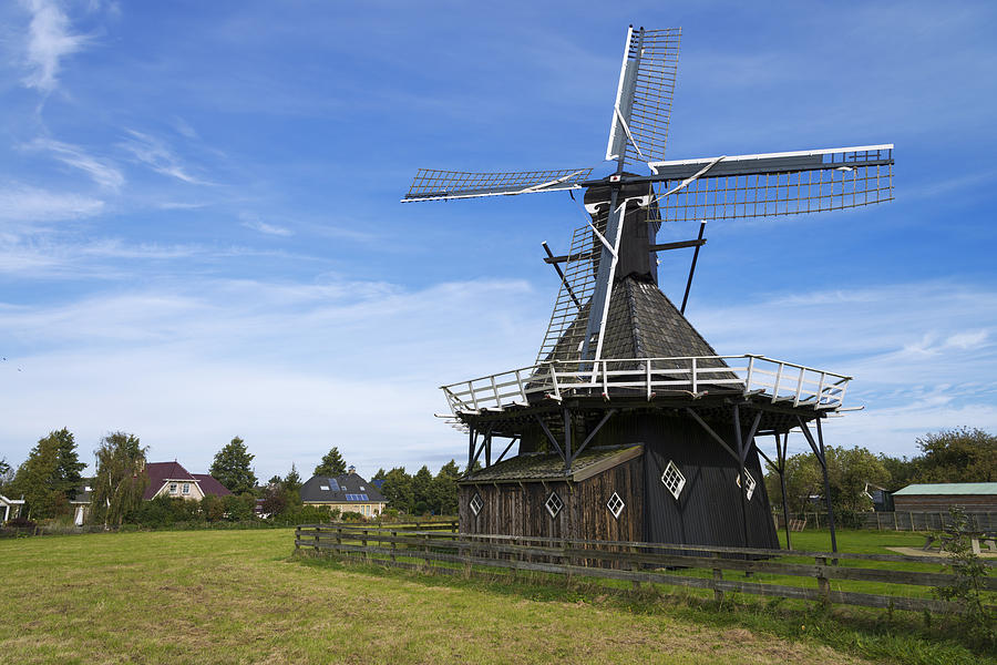 Nature Photograph - Koudum Molen by Chad Dutson