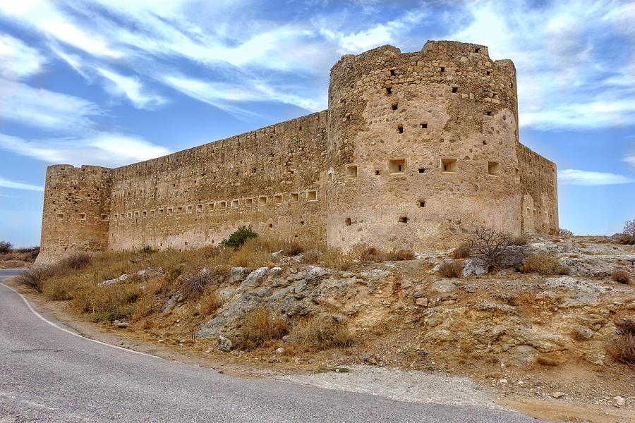 Koulos fortress at Aptera by Paul Cowan