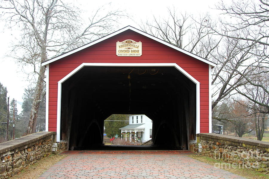 Kreidersville Covered Bridge by Ken Keener