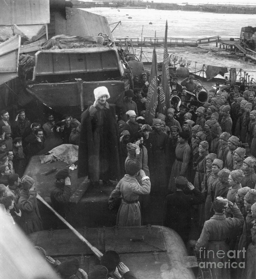 1921 Photograph - Kronstadt Mutiny, 1921 by Granger