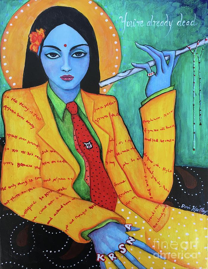 Krishna Painting - Krsna by Dori Hartley