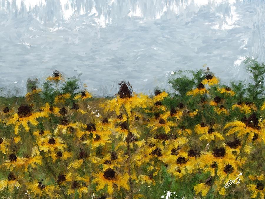 Krystallyns Susans Painting by Eddie Durrett