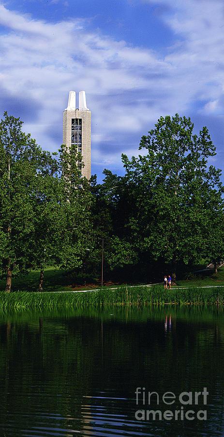 Ku Photograph - Ku Carrilon Tower by Gary Gingrich Galleries