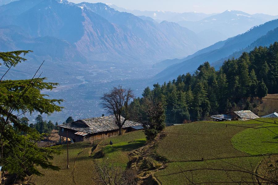 Kullu Valley Landscape by Mayank M M Reid