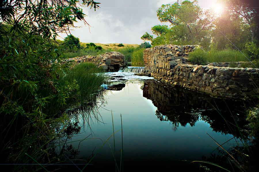 Dam Photograph - Kumeyaay Dam by Frank Garciarubio
