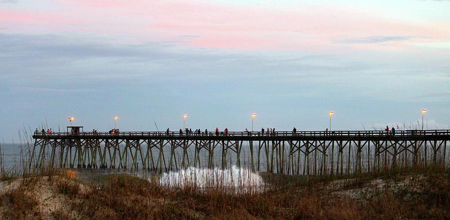 Kure beach pier photograph by cynthia guinn for Kure beach pier fishing report
