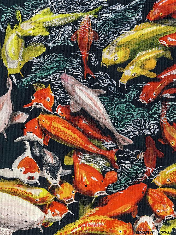 Kure Koi Pond by John Garfitt