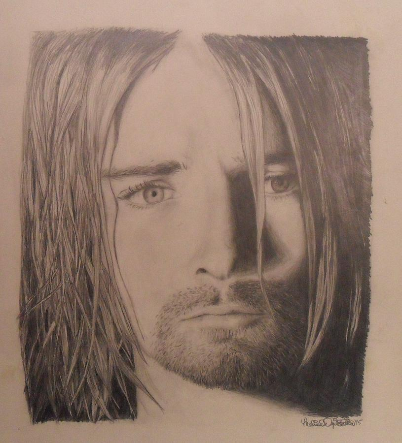 Kurt Cobain Drawing - Kurt Cobain by Melissa Dzierlatka