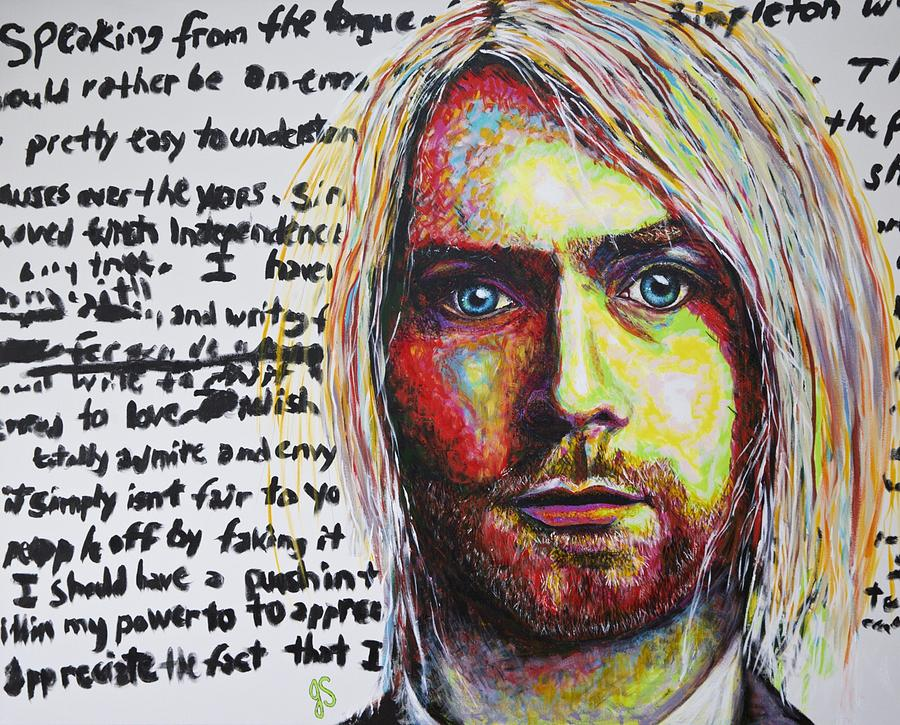 kurt cobain thesis Lars ulrich of metallica reflected on cobain's influence stating that with kurt cobain you felt you were connecting to the real person.