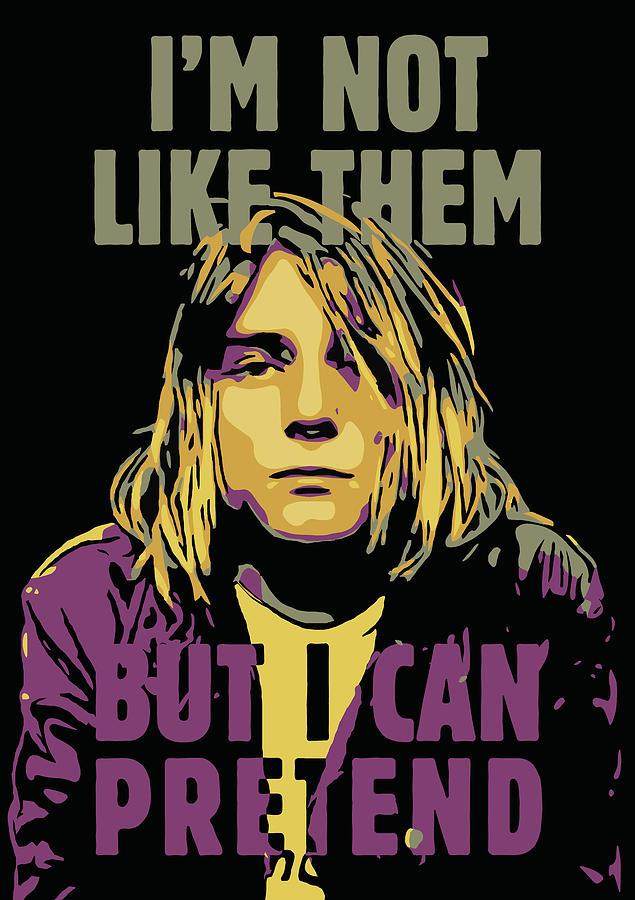 Kurt Cobain Digital Art