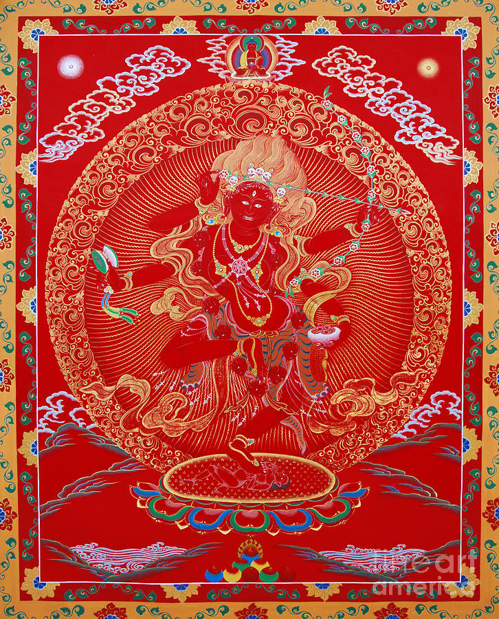 Kuru Painting - Kurukulle Devi by Sergey Noskov