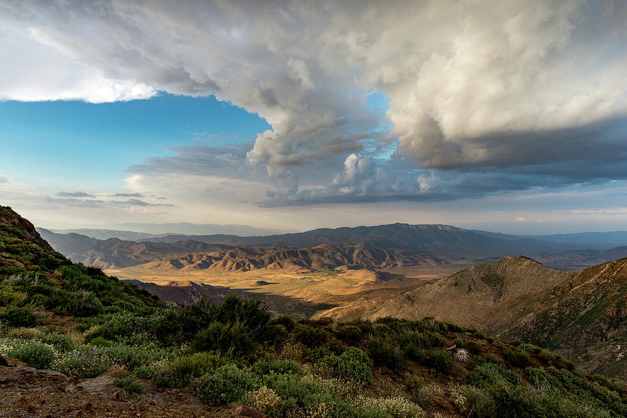 Anza Borrego Desert State Park Photograph - Kwaaymii Point Monsoon by Tracy Schultze
