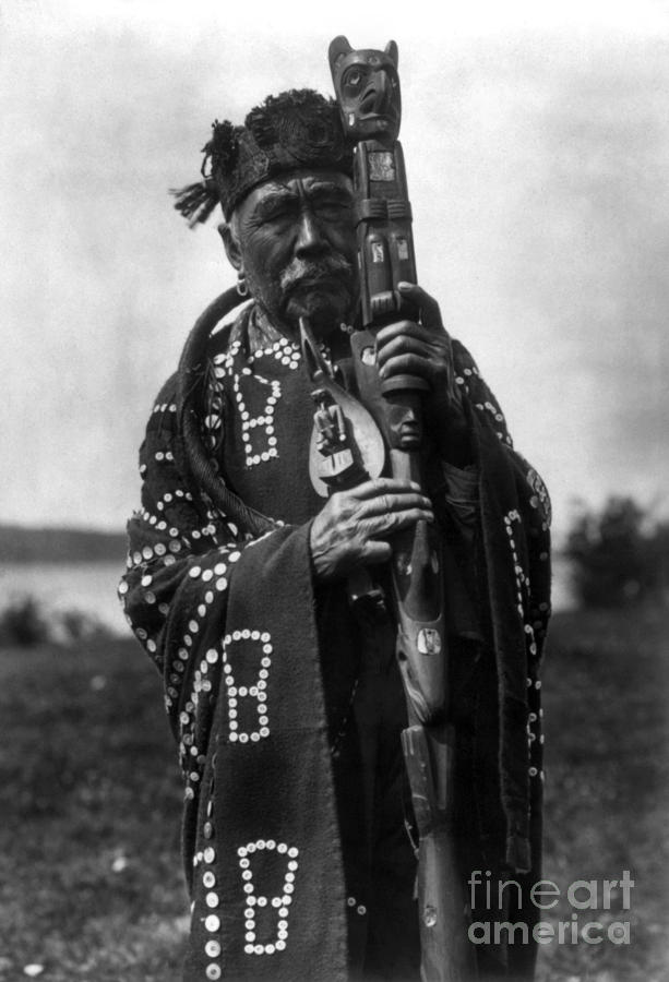 Aod Photograph - Kwakiutl Chief, C1914 by Granger