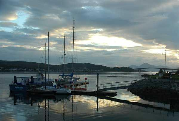 Scenery Photograph - Kyle Of Lochalsh Scotland by Adrian Brown