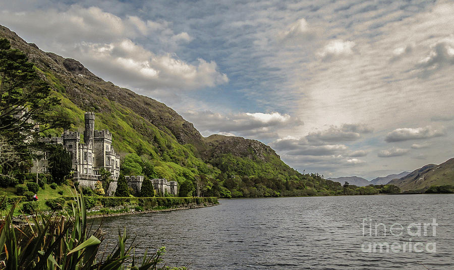 Kylemore Abbey Photograph by Julie Chambers