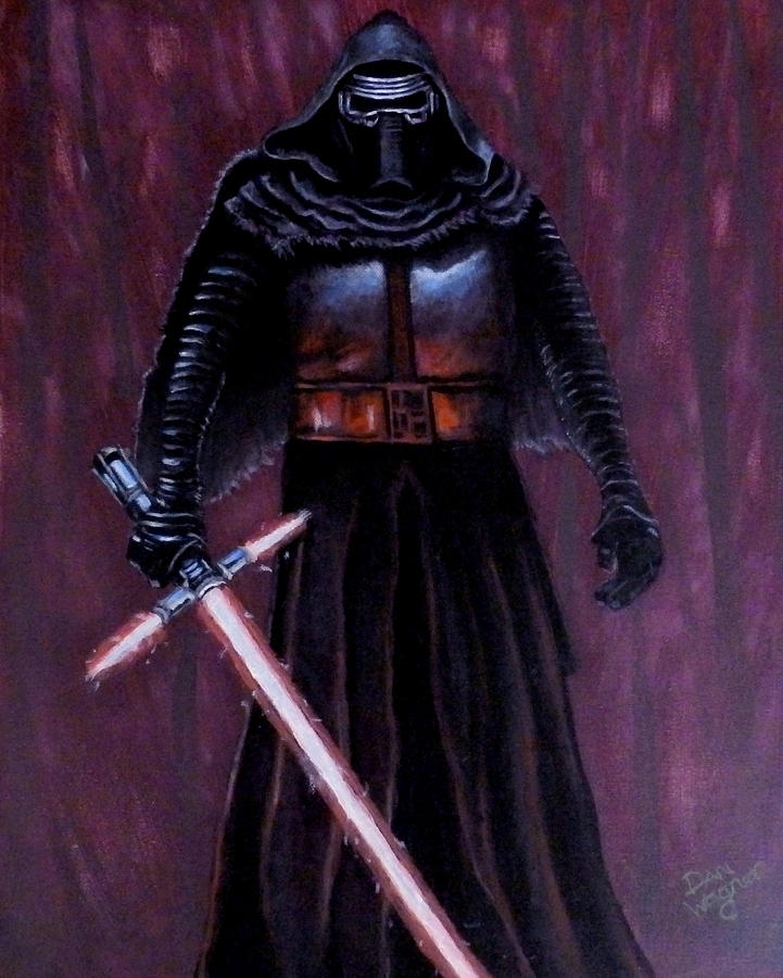 Kylo in Red by Dan Wagner