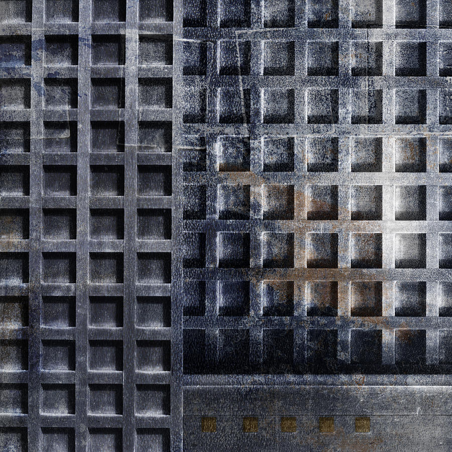 Door Photograph - Kyoto Doorways In Blue Series 2 by Carol Leigh