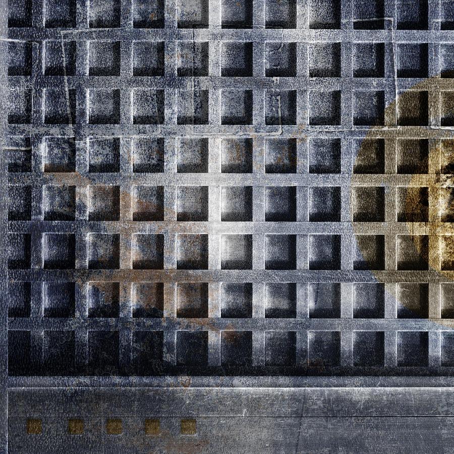 Door Photograph - Kyoto Doorways In Blue Series 4 by Carol Leigh