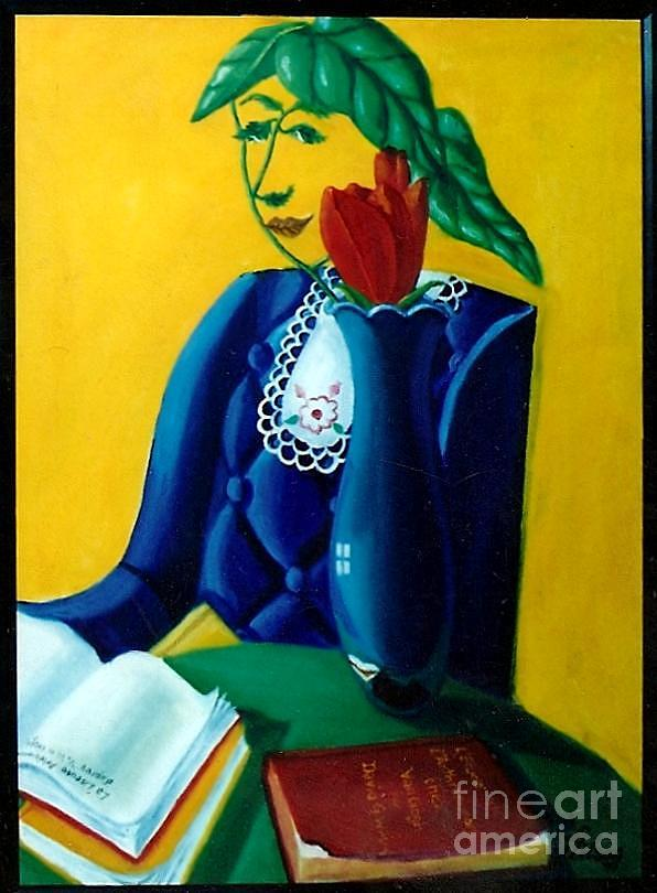 L Arlesienne Painting by David G Wilson