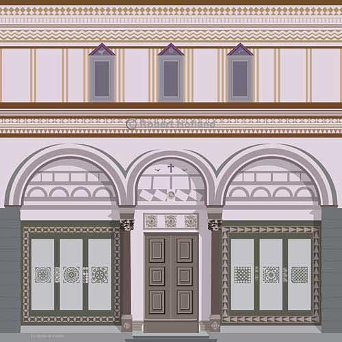 Church Digital Art - La Badia Di Fiesole by Robert Hofland