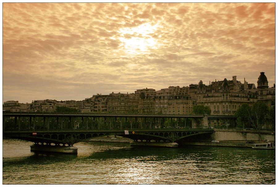 Waterscape Photograph - La Balade by Georgi Bitar