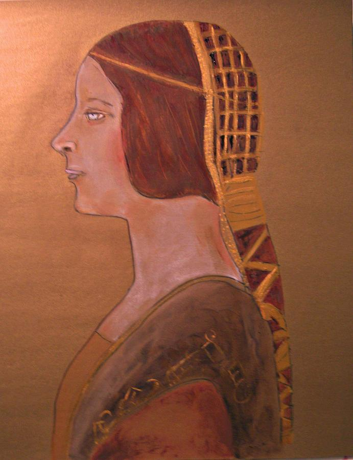 La Bella Principessa Painting by Michela Akers