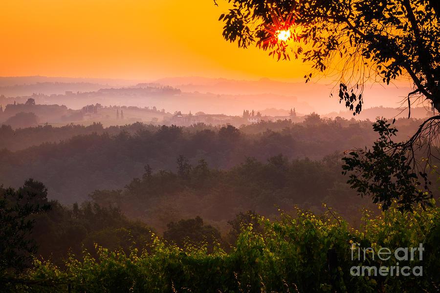 Europe Photograph - La Bella Toscana by Inge Johnsson