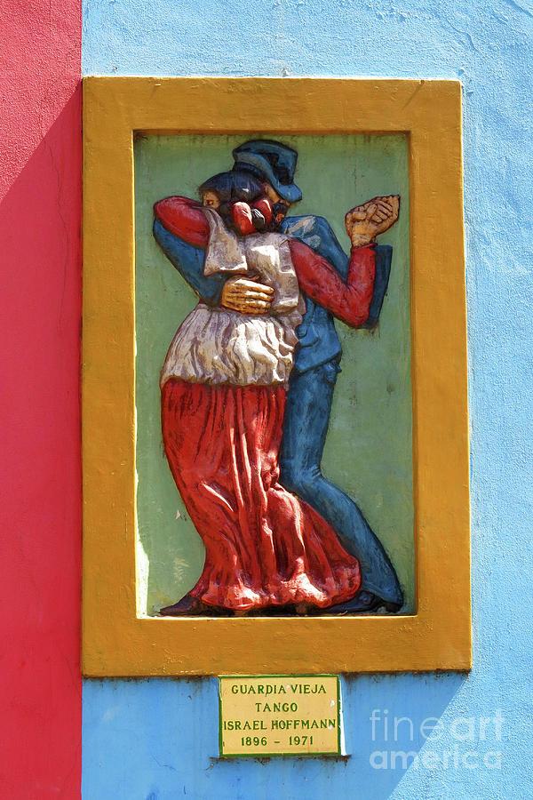 La Boca Wall Sculpture 1 by Vivian Christopher