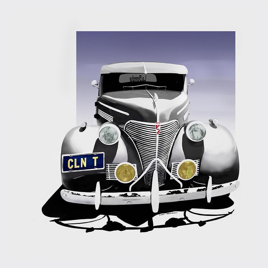 Chevrolet Digital Art - La Bomba Lowrider by Motorvate Studio