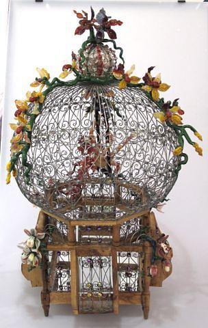 Borosilicate Sculpture - La Cage Aux Folles by Laurie Young