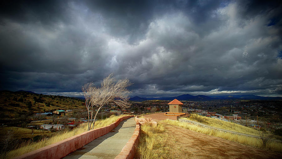 La Capilla Photograph - La Capilla by Allen W Sanders