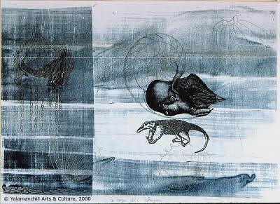 Anteater Print - La Carga Del Hormiguero by Liliana Beatriz Arnillas
