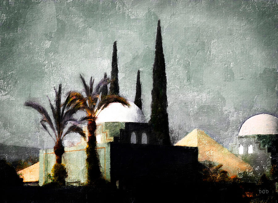 Casbah Digital Art - La Casbah by Declan ODoherty