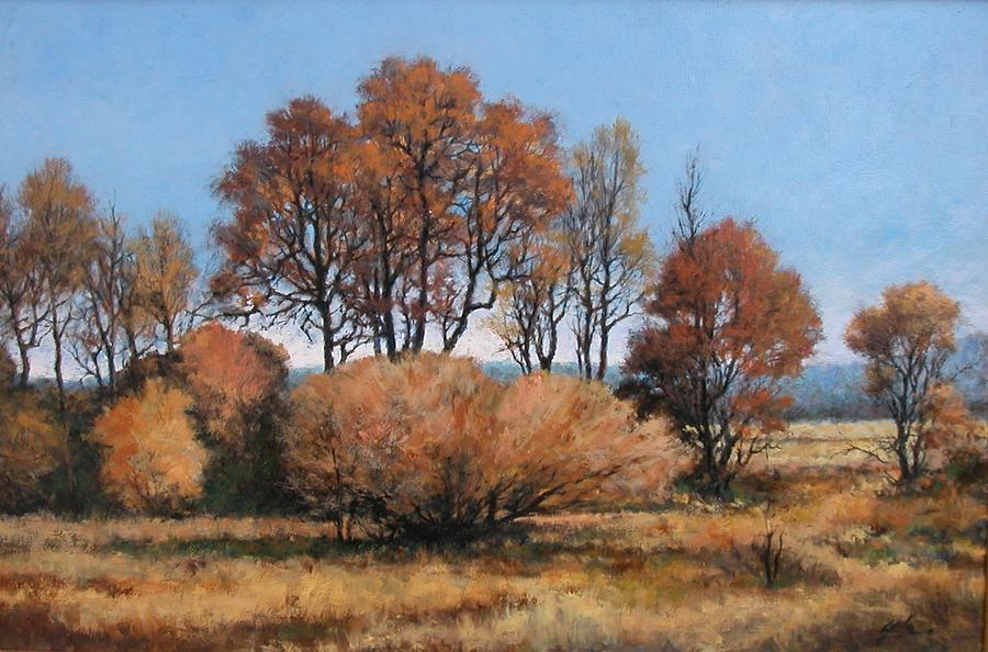 Painting Painting - La Center Bottoms by Jim Gola