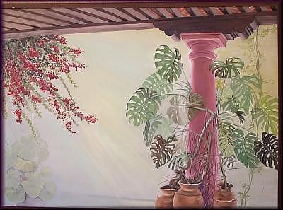 La Estancia Painting by Irene Corey