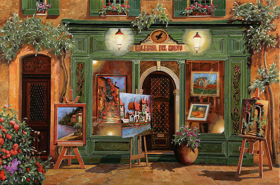 La Galleria Del Corvo Painting