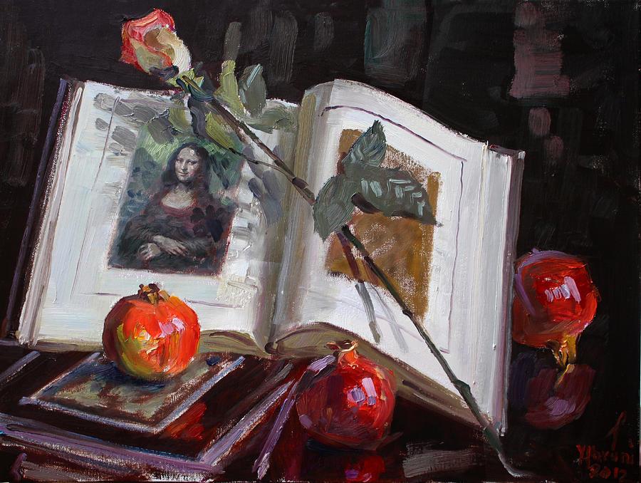 La Gioconda Painting - La Gioconda  by Ylli Haruni