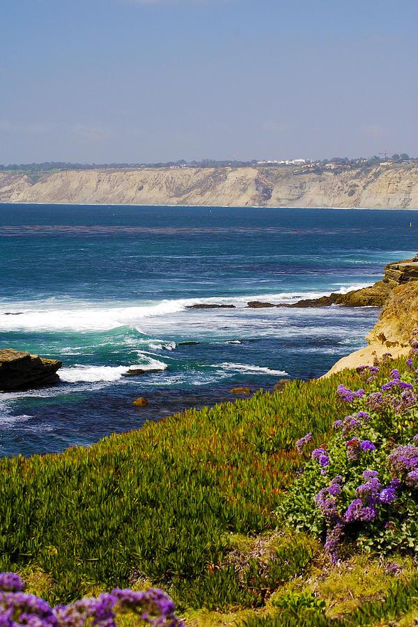La Jolla Cliffs Photograph - La Jolla Cliffs by Keith Ducker